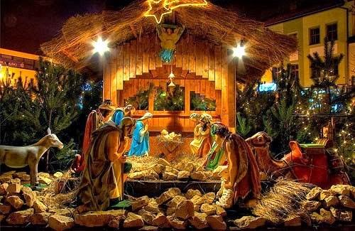 Hình ảnh Chúa hài đồng nằm trong hang đá đã trở nên quen thuộc với tất cả mọi người mỗi dịp Giáng sinh về